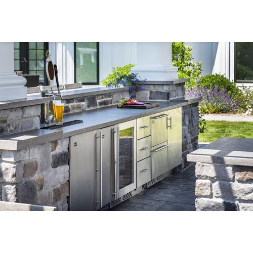 Arcadia 24-inch Outdoor Freezer