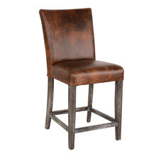 See Details - Decker Counter Stool Brown