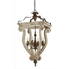 See Details - Abbey 4-lt Chandelier