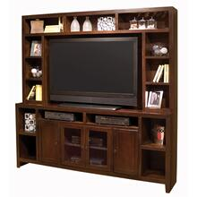 """See Details - Essentials Lifestyle 84"""" Console and Hutch"""