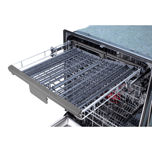 "24"" Black Stainless Steel Dishwasher"
