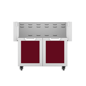 "36"" Hestan Outdoor Tower Cart with Double Doors - GCD Series - Tin-roof"