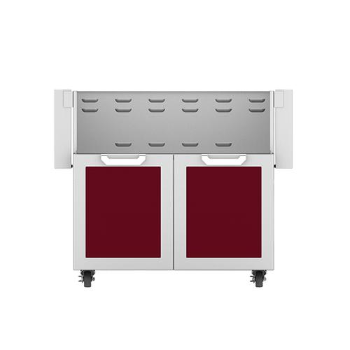 """Hestan - 36"""" Hestan Outdoor Tower Cart with Double Doors - GCD Series - Tin-roof"""