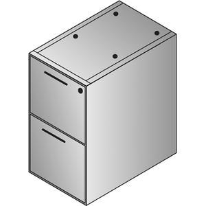 Napa File/file Desk Pedestal