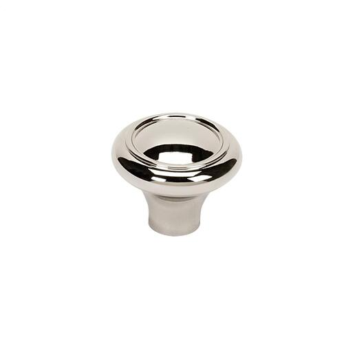 Classic Traditional Knob A1561 - Polished Nickel