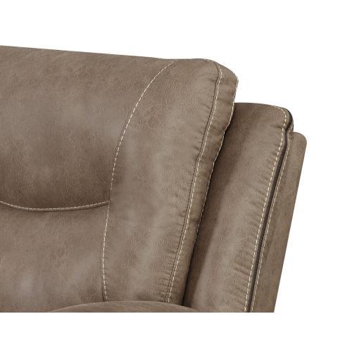 Gallery - Isabella Manual Reclining Sofa, Sand