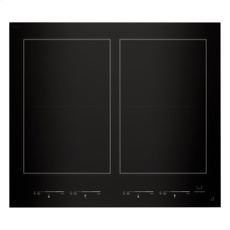 "24"" Oblivion Glass Induction Flex Cooktop"