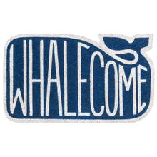 """Whalecome"" Doormat"