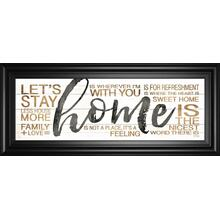 """Home"" By Marla Rae Framed Print Wall Art"
