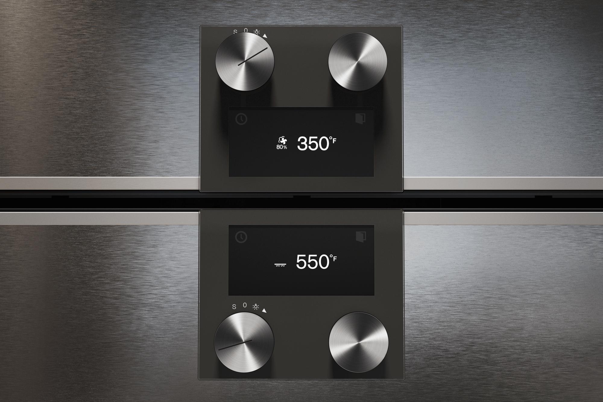 400 Series Combi-steam Oven 24'' Door Hinge: Right, Door Hinge: Right, Stainless Steel Behind Glass Photo #4