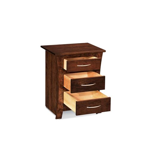 Garrett Nightstand with Drawers, Cherry
