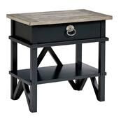 Summer Creek Berkshires Bedside Table