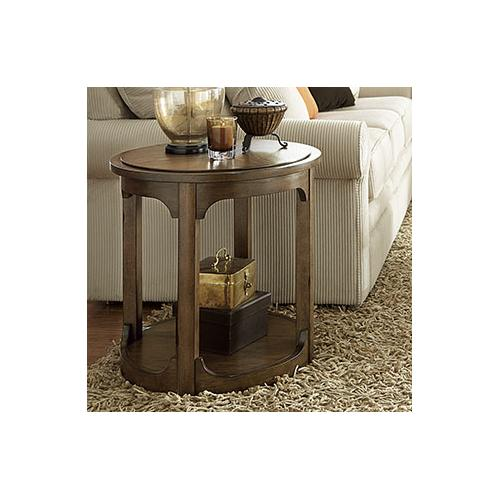 Hammary - Round End Table - Kd