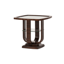 Cloche End Table Bourbon