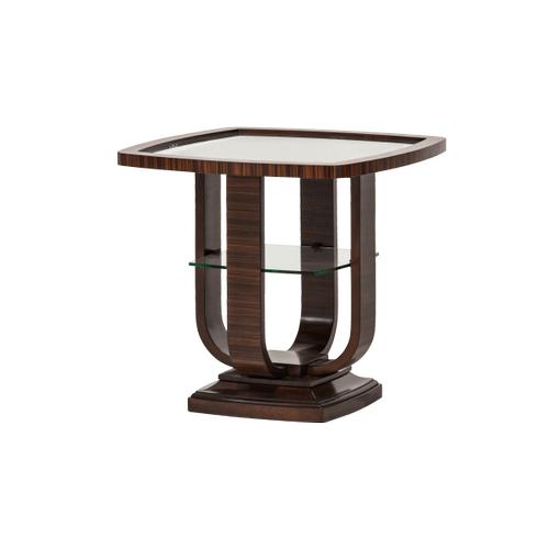 Cloche End Table Bourbon