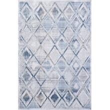 Mosaic Grey/cream/blue 1666 Rug