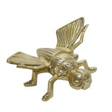 """Product Image - Metal 8"""" Housefly Table Deco, Gold"""