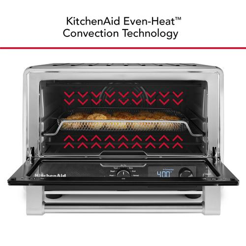 Digital Countertop Oven With Air Fry - Black Matte
