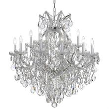 Maria Theresa 19 Light Spectra Crystal Chrome Chandelier