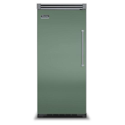 "Viking - Mint Julep 36"" Quiet Cool™ All Refrigerator - VIRB Tru-Flush™ (Left Hinge Door)"