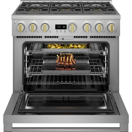 """Monogram 36"""" All Gas Professional Range with 6 Burners (Natural Gas) - Coming Spring 2021"""