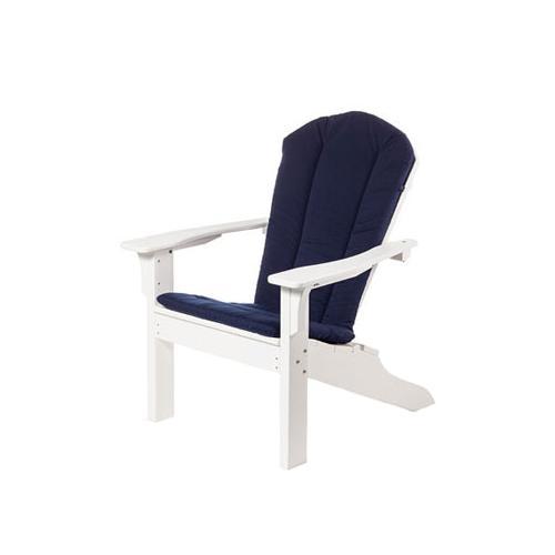 Seaside Casual - Adirondack Shellback Chair, Love Seat & Rocker Cushion (802)