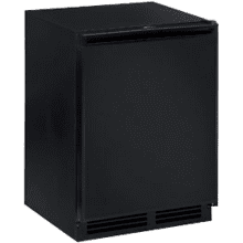 "Black Field reversible 2000 Series / 24"" Refrigerator Freezer Model"
