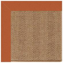 "Islamorada-Herringbone Canvas Rust - Rectangle - 24"" x 36"""