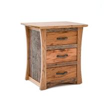 Hampton Heath 3 Drawer Nightstand