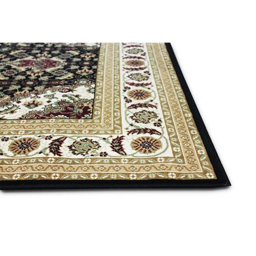 "Persian Design 1 Million Point Heatset Monalisa T02 Area Rugs by Rug Factory Plus - 2'8"" x 10' / Green"