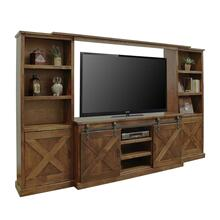 Farmhouse Entertainment Wall