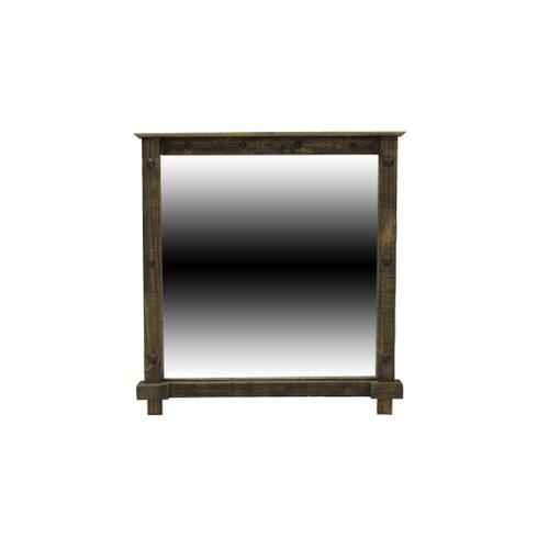 L.M.T. Rustic and Western Imports - Rough Pine Mirror
