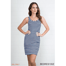 Striped Body Esteem Dress - XXL (3 pc. ppk.)