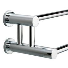 Montana Contemporary Double Towel Rail, 24""