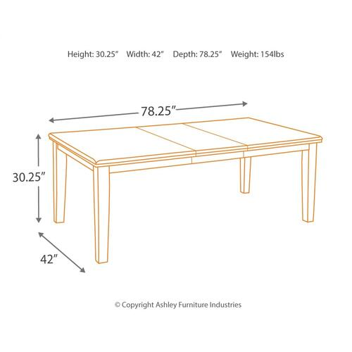 Haddigan Dining Extension Table