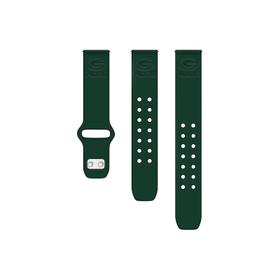 Green Bay Packers Debossed Silicone Watch Band (22mm) Green