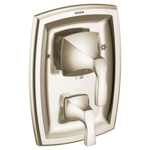 Voss polished nickel posi-temp® with diverter tub/shower valve only