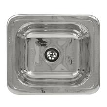 """See Details - 14"""" Rectangular drop-in entertainment/prep sink with a smooth surface"""