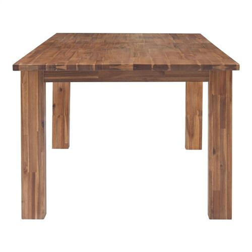 "Bedford Butterfly Dining Table w/ 20"" Ext., Brushed Brown"
