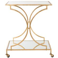See Details - Ignatius Bar Cart - Gold