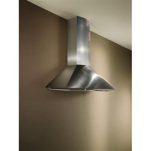 "35-7/16"" Stainless Steel Range Hood with External Blower Options"