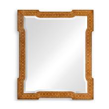 Napoleon III style wall mirror fine inlay