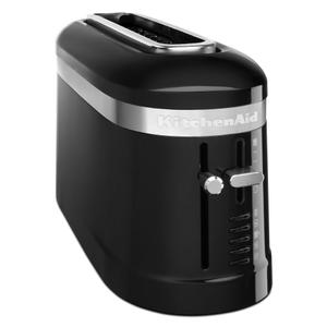 KitchenAid2 Slice Long Slot Toaster with High-Lift Lever - Onyx Black