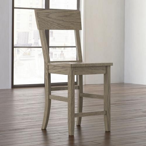 Bassett Furniture - Rollins Oak Counter Stool