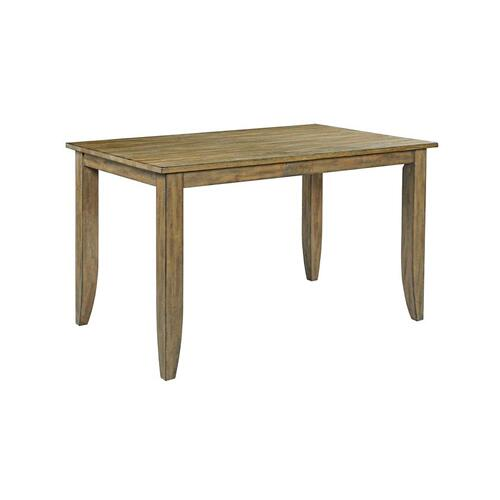 """Gallery - 60"""" Counter Height Leg Table"""