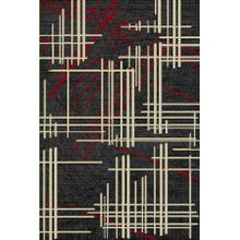 """See Details - Lifestyle 802 Area Rug by Rug Factory Plus - 5'4"""" x 7'5"""" / Red"""