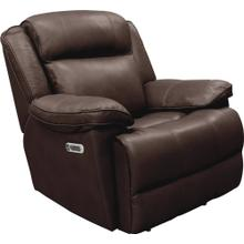 Power Leather Recliner with Power Headrest