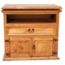 See Details - Large Swivel Top TV Stand