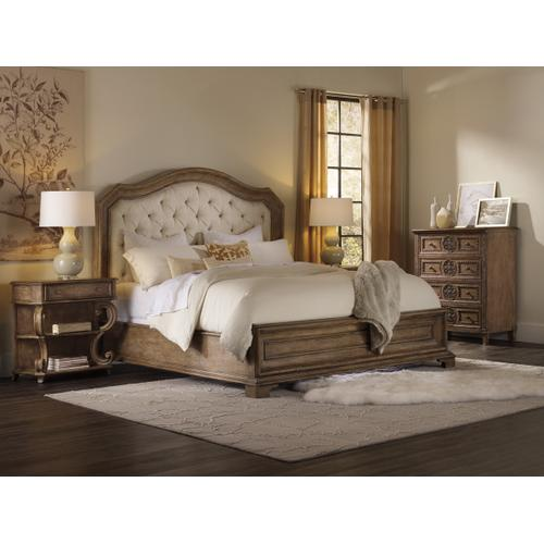 Product Image - Solana King Upholstered Panel Bed