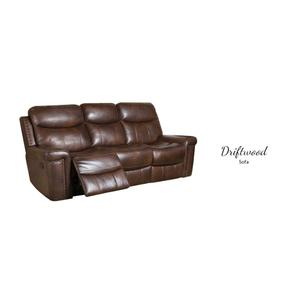 Rec Power Sofa w/Power Headrest